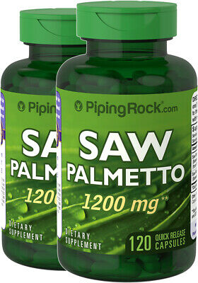 AU54.50 • Buy DOUBLE STRENGHT Saw Palmetto 1200mg 240Capsules Prostate Bulk Special
