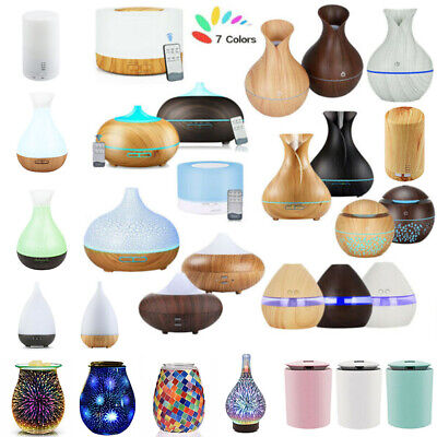 AU31.89 • Buy LED Ultrasonic Essential Oil Aroma Diffuser Air Purifier Aromatherapy Humidifier