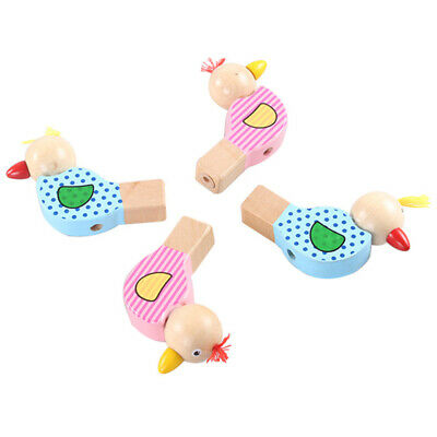 £3.54 • Buy Wooden Cartoon Bird Whistle Colorful Creative Whistle Musical Toy Early E