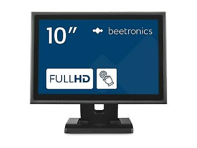 £299.99 • Buy Beetronics 10  Touch Screen Monitor 10TS7M - Metal - IP65 Front Panel