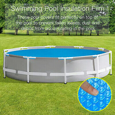 £10.99 • Buy 4-10FT Round Family Swimming Pool Cover For Garden Outdoor Kids Paddling Pools