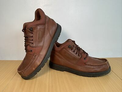 £39.95 • Buy ROCKPORT XCS Brown Leather Boots Size UK 9 EUR 43