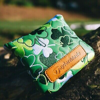 £95 • Buy **NEW** Taylormade Spider Putter Head Cover. Shamrock Limited Edition.