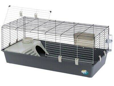 £30 • Buy Grey Ferplast Guinea Pig And Rabbit Cage Indoor Home Large 120cm Good Condition