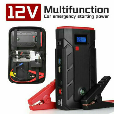 AU74.89 • Buy New 99900mAh Car Jump Starter Pack Battery Booster Charger Power Bank 2000Amp AU