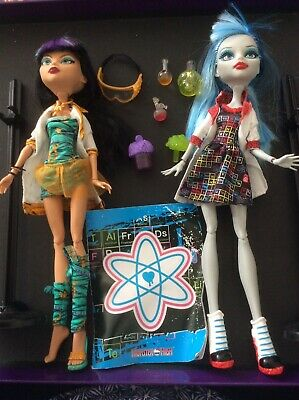 £24.99 • Buy Monster High Doll Cleo De Nile Egyptian Ghoulia Yelps Mad Science Lab Classroom