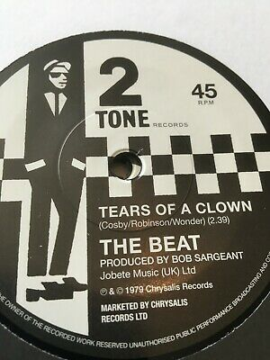 £11.99 • Buy The Beat-tears Of A Clown+sleeve--two Tone 45 Mint