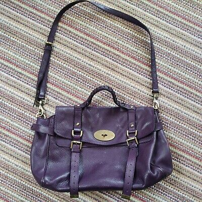 £150 • Buy Oversized Alexa Mulberry's Purple Bag In Excellent Condition