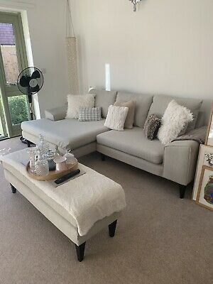 £650 • Buy French Connection Left Hand Corner Sofa Excellent Condition