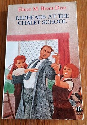 £18 • Buy Redheads At The Chalet School – Elinor Brent-Dyer **RARE**