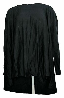 £8.50 • Buy Nicole Richie Collection Top Sz L Convertible Long Sleeve Black A257555