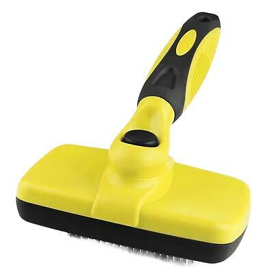 £8.99 • Buy Professional Self Cleaning Grooming Slicker Brush For Pet Dog Puppy Cat Rabbit
