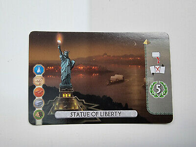 $ CDN17.14 • Buy 7 Wonders Duel Board Game - Statue Of Liberty Official Promo