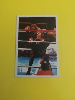 £100 • Buy Question Of Sport 1986 Mike Tyson Rookie Card In Excellent Condition