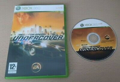 £2.75 • Buy NEED FOR SPEED : UNDERCOVER - XBox 360 Game With Custom Cover