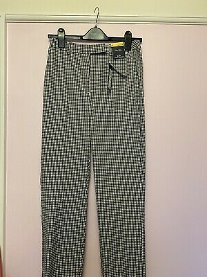 £2.50 • Buy M&s Ladies Checked Trousers Checked Size 6 Bnwt