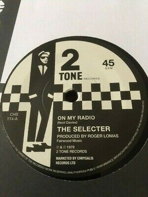 £11.99 • Buy The Selector-on My Radio+sleeve--two Tone 45 Mint