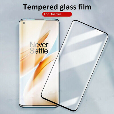 AU3.71 • Buy Tempered Glass For Oneplus 9R Nord 7 6 6T 8 Full Screen Coverage Protective Film