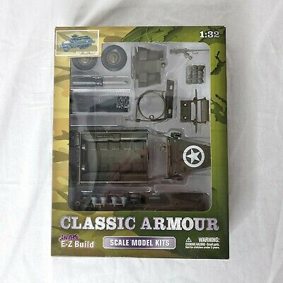 $24.95 • Buy In Air E-Z Build Classic Armour M3A1 Half Track 1:32 Scale Model Kit
