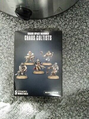 £7.50 • Buy Warhammer 40k Chaos Cultists