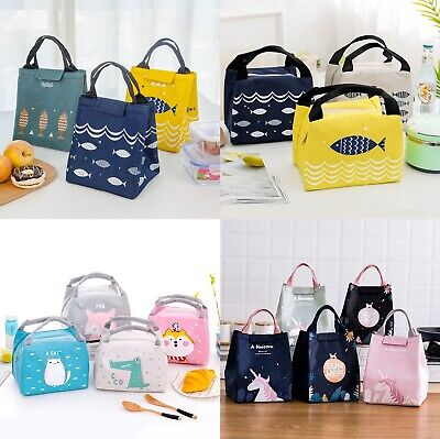 AU7.75 • Buy Portable Insulated Thermal Cooler Lunch Box Carry Tote Picnic Case Storage Bag