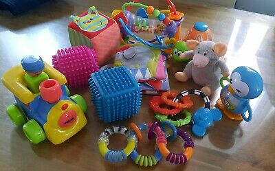 £7 • Buy Baby Teething & Sensory Toys Bundle - Nuby Fisher Price Etc. Excellent Condition