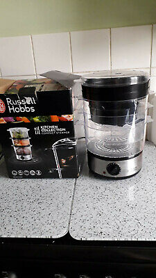 £10 • Buy Electric 3 Tier Steamer With Rice Bowl