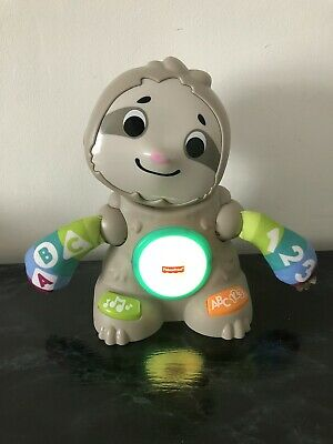 £14.99 • Buy Fisher-Price Linkimals Smooth Moves Sloth Interactive Sensory Baby Toy