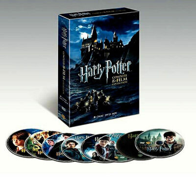 $ CDN26.49 • Buy Harry Potter: Complete 8-Film Collection (DVD, 2011, 8-Disc Set) NEW