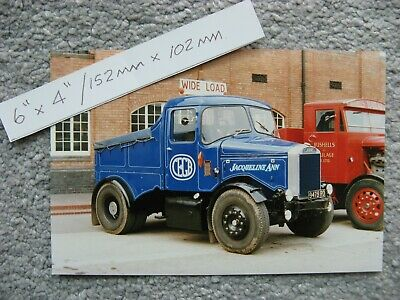 £1.70 • Buy 6X4  150X100mm CLASSIC VINTAGE SCAMMELL HAULAGE TRANSPORT LORRY TRUCK PHOTO
