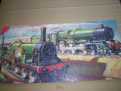 £15 • Buy Chad Valley Not Victory GWR Jigsaw. Locos Old & New. Complete With Box.