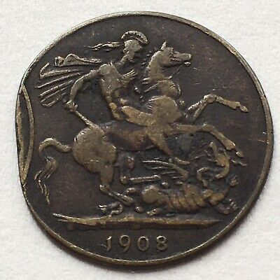 £0.99 • Buy St. George 1908 Unresearched Token? (See Description)