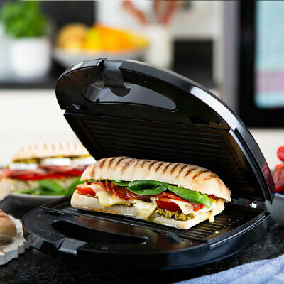 £19.99 • Buy Waffle Panini Toaster Grill 3 In 1 Sandwich Snack Maker Interchangeable Plates