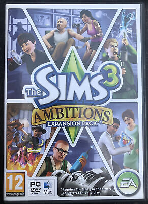 £3.99 • Buy The Sims 3 Game: Ambitions Expansion Pack (for PC / Mac, 2010) - Good Condition