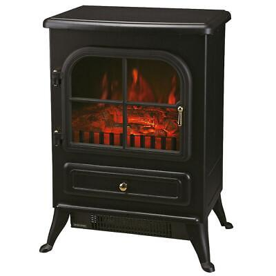 £48.33 • Buy Black Switch Control Freestanding Electric Stove Fire