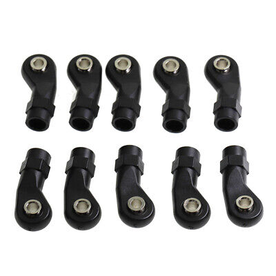 £3.78 • Buy 10Pcs Plastic M4 Rod End Link Linkage Balls Joint Head For 1/10 RC Car Cler