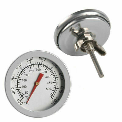 £9.99 • Buy 3X  Stainless Steel BBQ Cooking Smoker Grill Thermometer Temperature Gauge 1000℉