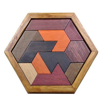 £5.38 • Buy Kids Puzzles Wooden Toys Jigsaw Board Geometric Shape Child Educational Toy