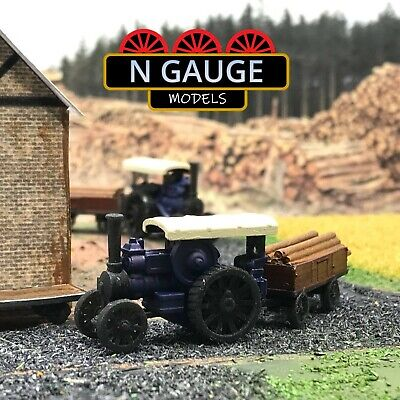 £12.99 • Buy Timber Yard Road Locomotive & Logs N Gauge Scale 1:148 (Ready To Go! Lorry Truck