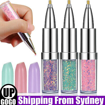 AU5.85 • Buy 3Colour Point Drill Pens Diamond Painting Pen DIY Cross Stitch Craft Sewing Tool