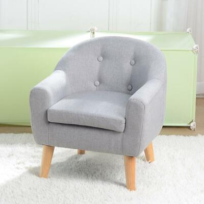 £58.95 • Buy Children Sofa Couch Sturdy Armrest Seat Baby Sofa Armchair Toddler Cushion Gray