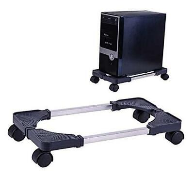 £25.61 • Buy Computer Tower Stand Adjustable PC CPU Stand, Mobile Adjustable Computer