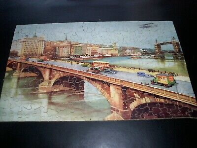 £20 • Buy Chad Valley Not Victory GWR Jigsaw. London Highways. Complete With Box.