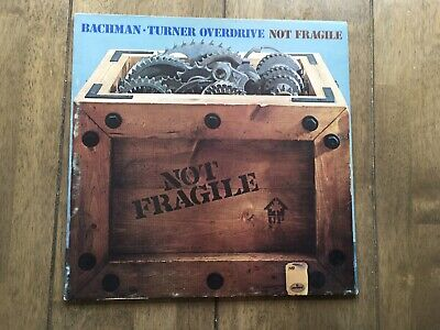 £1.99 • Buy Bachman Turner Overdrive - Not Fragile Gf Ex Con  Album Personal Collection Sale
