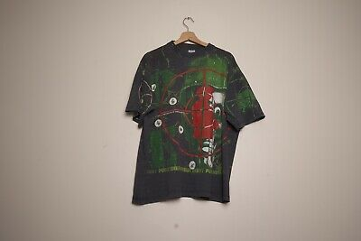£420 • Buy Vintage Public Enemy All Over Print T Shirt