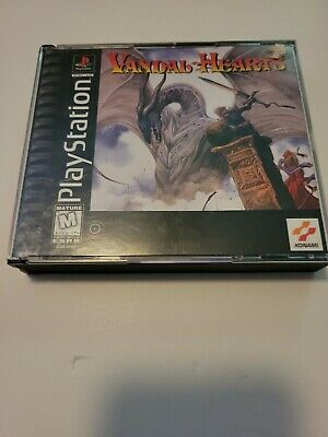 £63.72 • Buy Vandal-Hearts (Sony PlayStation 1, 1997)Complete.