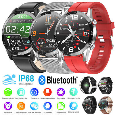 AU58.99 • Buy Smart Watch Bluetooth Call Waterproof Fitness Tracker For Android IPhone