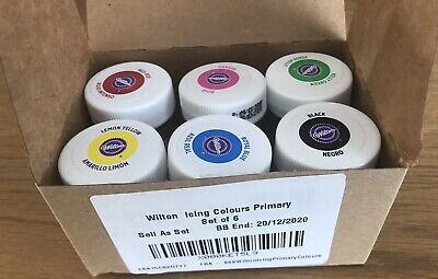 £1.99 • Buy Wilton Primary Colours Food Colouring Gel Paste Set - 6 Colours Out Of Date EYFS
