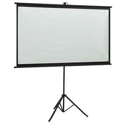 AU78.89 • Buy Portable 50  To110  Tripod HD Projection Screen Matte Pull Down Projector Cinema