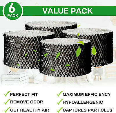 $ CDN26.71 • Buy 6 Packs Compatible Humidifier Filter Replaces For Holmes H62 HWF62  A  & HWF